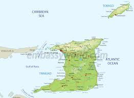 Trinidad On World Map by Trailspots T Spots October 2014
