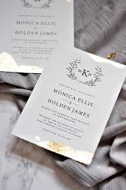 wedding invitations gold foil gold leaf wedding invitations pipkin paper company