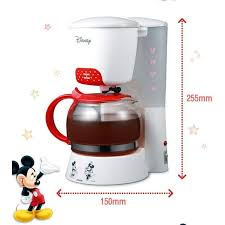 mickey mouse kitchen appliances disney mini coffee maker portable small kitchen appliance