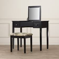 Bedroom Makeup Vanity With Lights Bathroom Wayfair Vanity Narrow Depth Bathroom Vanity Makeup