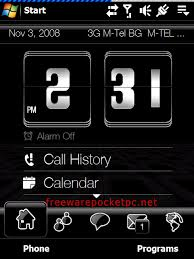 download themes on mobile phone simply black touchflo 3d theme freeware for windows mobile phone