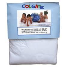 colgate wee a way crib mattress pad cover kids n cribs