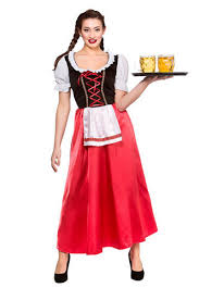oktoberfest bavarian fancy dress womens adults