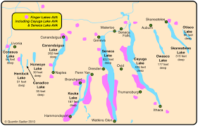 Oregon Ava Map by Empire State Of Wine Essential Ny Maps U0026 Facts Grapes And Grains