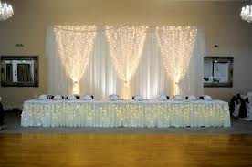 wedding backdrop with lights top table backdrop for wedding reception in hertfordshire