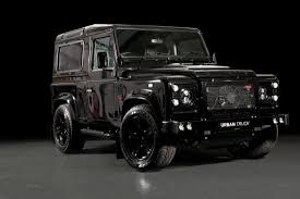 range rover truck black land rover defender ultimate rs is a monster suv