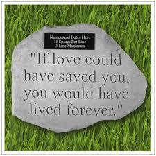 pet memorial garden stones custom pet memorial