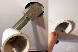 shallow remodel can lights brilliant how to install recessed lights pretty handy