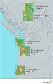 Southern Oregon Map by Clearcutting Changes The Face Of Northwest Forests Sightline