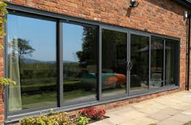 Double Pane Patio Doors by Smarts Systems Visoglide Aluminium Six Pane Patio Door Aluminium