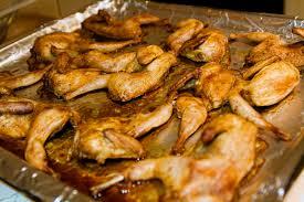 cuisiner des cailles au four cailles à l asiatique au four cuisine 4 noobs
