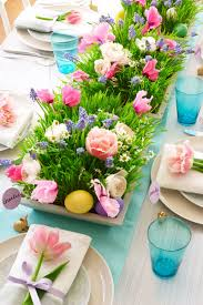 easter arrangements centerpieces 24 colorful ways to decorate your easter brunch table in style