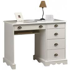 bureau blanc tiroir bureau blanc demi ministre de style anglais beaux meubles pas chers