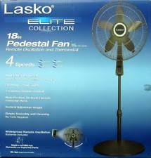 Pedestal Fan Remote Lasko Elite Collection 18