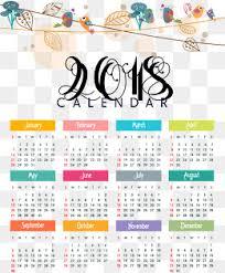 2018 calendar png images vectors and psd files free download
