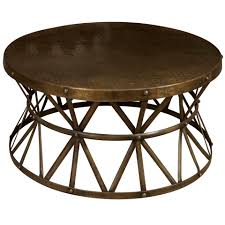 a round metal coffee table coffee metals and rounding
