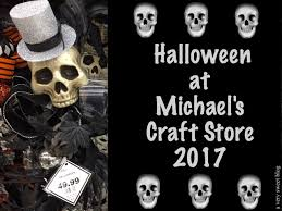 halloween decorations at michael u0027s craft store 2017 a very sweet