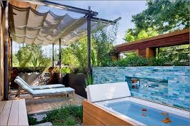 outdoor spa ideas for your home inspiration and ideas from