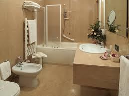 bathroom small bathroom decorating ideas with beige granite wall
