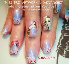 robin moses nail art may 2012