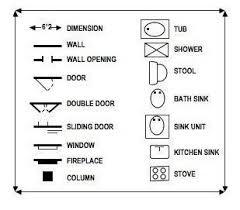 Kitchen Symbols For Floor Plans Interior Design Symbols For Floor Plans Amazing House Plans