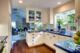 paint ideas for kitchen with blue countertops countertop options blue country kitchen blue countertops