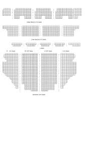 tivoli theatre seating map by chattonstage issuu