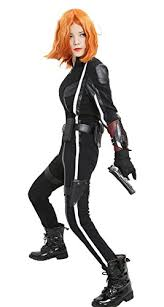 black widow jumpsuit the black widow costumes for