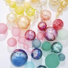 jim marvin gum glass ornaments 4 putti furnishings