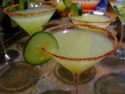 martini cucumber christmas cucumber margaritas kimberly belle