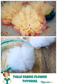 tulle flowers 21 ways to make beautiful flowers paper fabric tip junkie