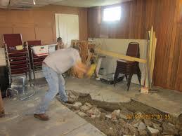 replace basement floor basement inspiring