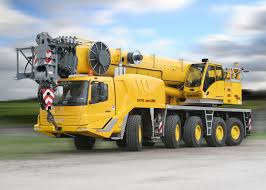 grove 5095 all terrain mobile crane stavební stroje a auta
