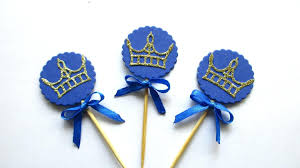 sauce party favors royal prince baby shower decoration crown