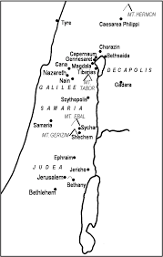 Gennesaret Map Maps New Testament Bible Maps By Generation Word