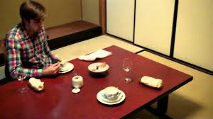 traditional japanese dining room youtube