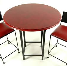 red pub table and chairs tall bar tables wrought iron