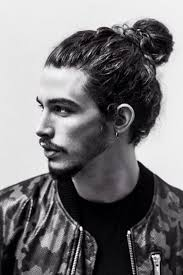 man bun short sides 30 new stylishly masculine curly hairstyles for men part 22