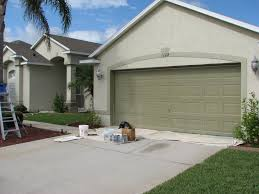 Garage Door Paint Designs Exterior Paint Colors For Homes In Florida Exterior Design