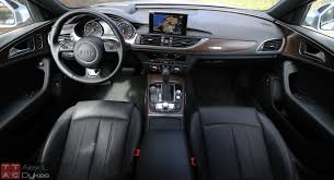 audi a6 review 2016 audi a6 3 0t interior the about cars