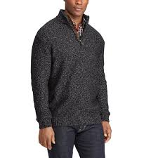 pullover sweater chaps fit quarter zip pullover sweater