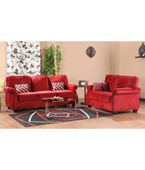 Sofa Sets Online India Hometown Victoria Fabric 3 2 Sofa Set Buy Hometown Victoria