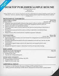 microsoft publisher resume templates desktop publisher resume resumecompanion resume sles