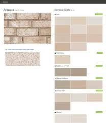 clayton falls earth tone brick general shale behr ppg paints