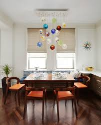 Pendant Lights Dining Room by New York Glass Pendant Lights Dining Room Transitional With Window