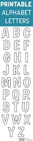template for santa letter best 25 printable letters ideas on pinterest printable letters printable free alphabet templates