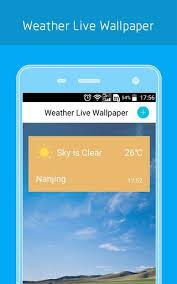 weather live wallpaper apk 1 1 free apk from apksum - Weather Live Apk