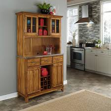 home decorators collection artisan medium oak buffet 9224900550 cottage oak and stainless steel buffet with hutch