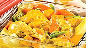recette cuisine automne cuisses de poulet au citron et légumes d automne