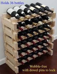 stackable 72 bottles modular hardwood wine racks very easy to put